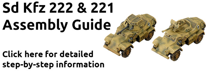 Sd Kfz 231 SS Scout Troops (GBX154)