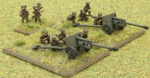 Romanian TAC 43 Resita 75mm anti-tank gun