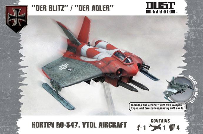 """Horten HO-347 Aircraft """"Der Adler / Der Blitz"""" (DT075)"""