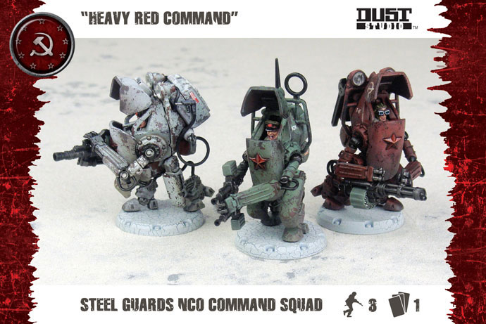 Steel Guard NCO Command Squad (DT057)