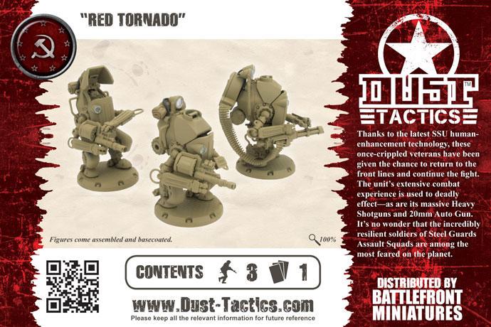 """Steel Guard Heavy Troop """"Red Tornado"""" (DT058)"""