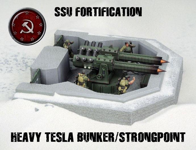 Heavy Tesla Bunker / Strongpoint  (DT073.B)