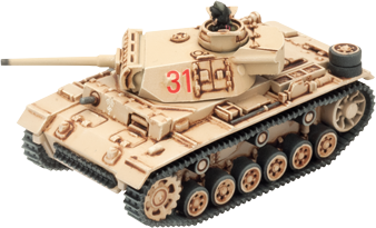 Click here to learn how to assemble the Panzer III...