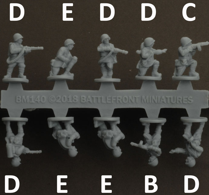 Assembling the Rifle Company (Plastic) (SBX50)