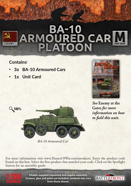 BA-10 Armoured Car Platoon (SBX46)