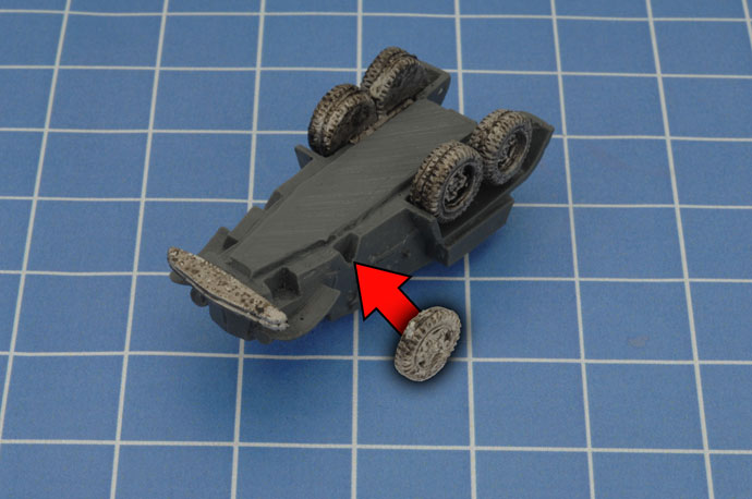 Assembling The BA-10 Armoured Car
