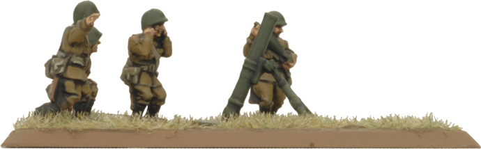 82mm And 120mm Mortar Company (Plastic) (SU781)