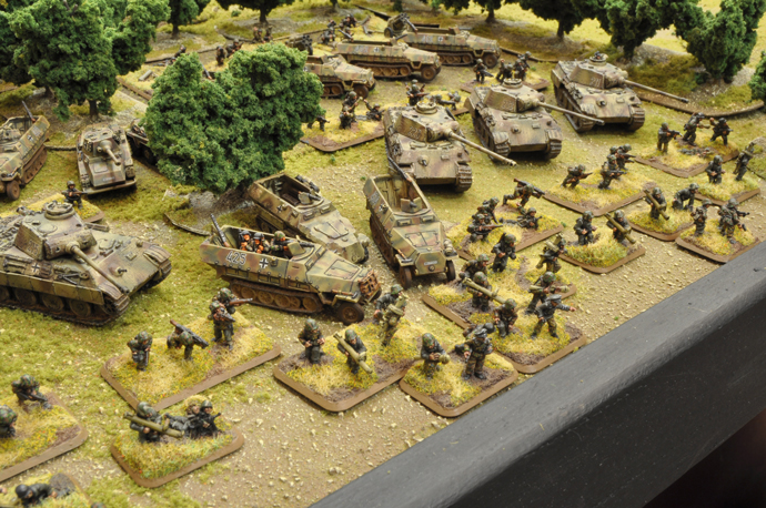 Shawn's Panzer Lehr Panzergrenadierkompanie at the US Masters