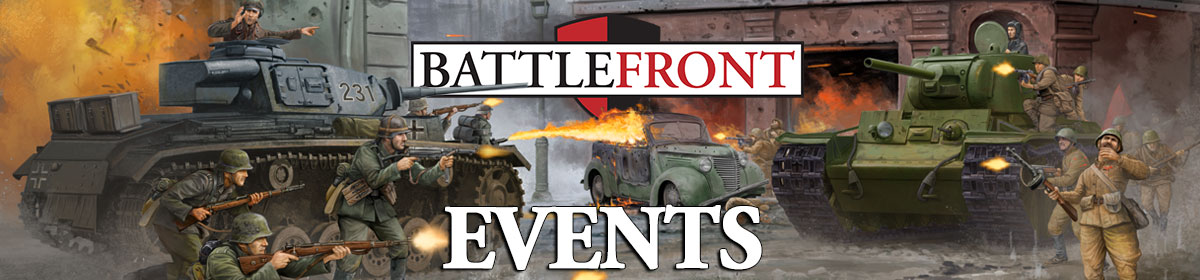 Battlefront Events Website