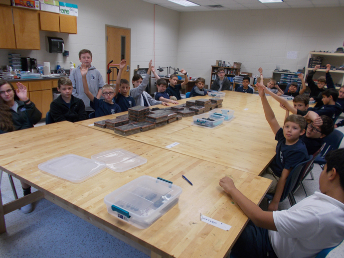 Middle School Historical Miniatures Modeling and Gaming as an Enrichment Class