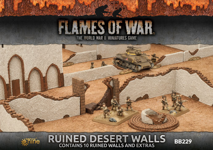 Ruined Desert Walls (BB229)