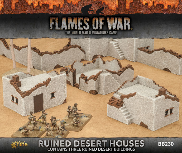 Ruined Desert Houses (BB230)