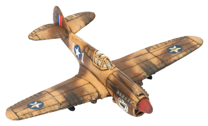 P40 Warhawk Fighter Flight (UBX52)