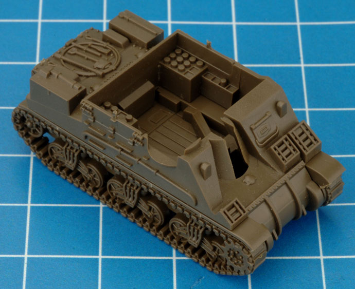 Assembling The M7 Priest