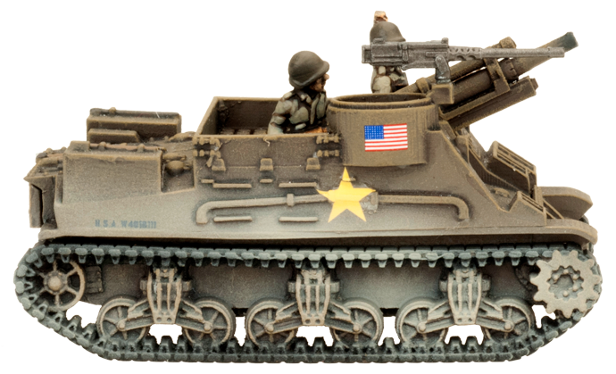 M7 Priest Armored Artilley Battery (Plastic) (UBX54)