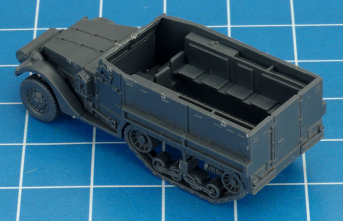 Assembling The M3 Halftrack (UBX57)