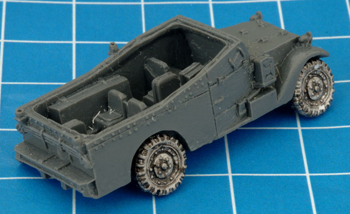 Assembling The M3A1 Armored Car (UBX59)