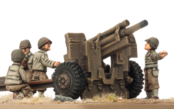 105mm Field Artillery Battery (Plastic) (UBX60)