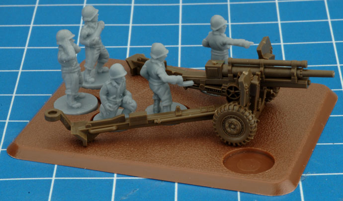 Assembling the 105mm Field Artillery Battery (UBX60)