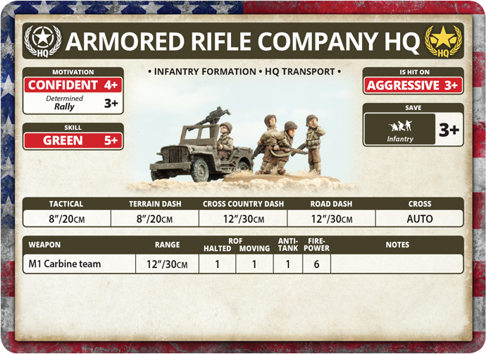 Armored Rifle Company HQ (US782)