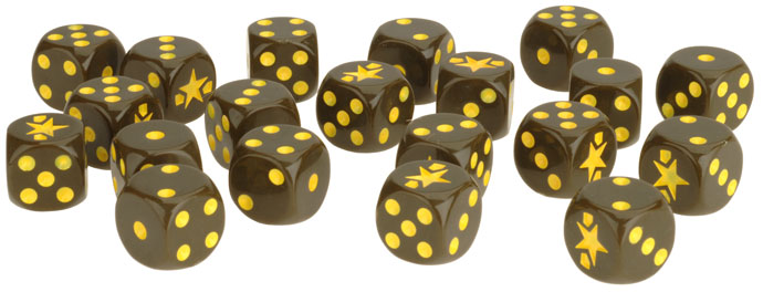 Fighting First Dice Set (US900)