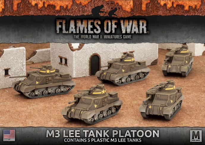 M3 Lee Tank Platoon (Plastic) (UBX50)