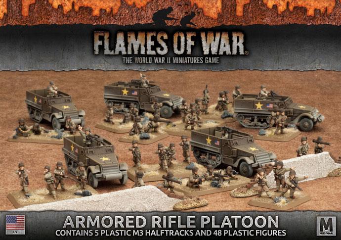 Armored Rifle Platoon (Plastic)(UBX51)