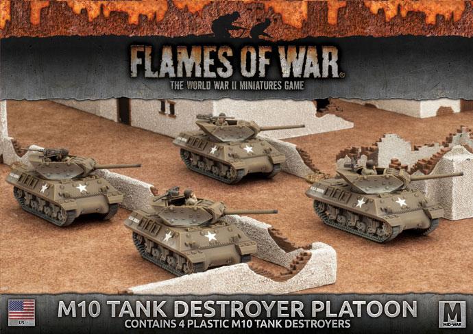 M10 3-Inch Tank Destroyer Platoon (Plastic) (UBX53)