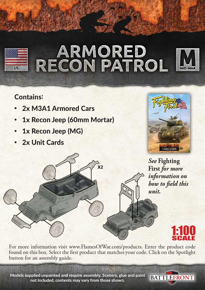 Armored Recon Patrol (UBX59)