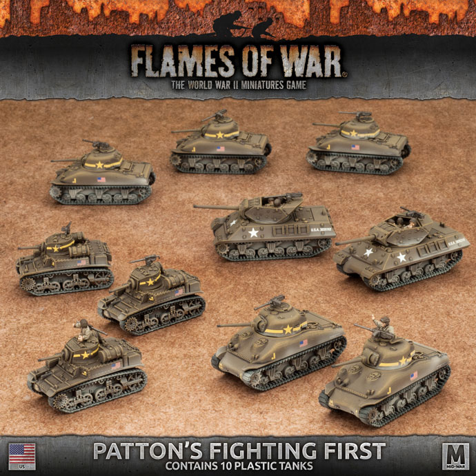 Patton's Fighting First (USAB08)