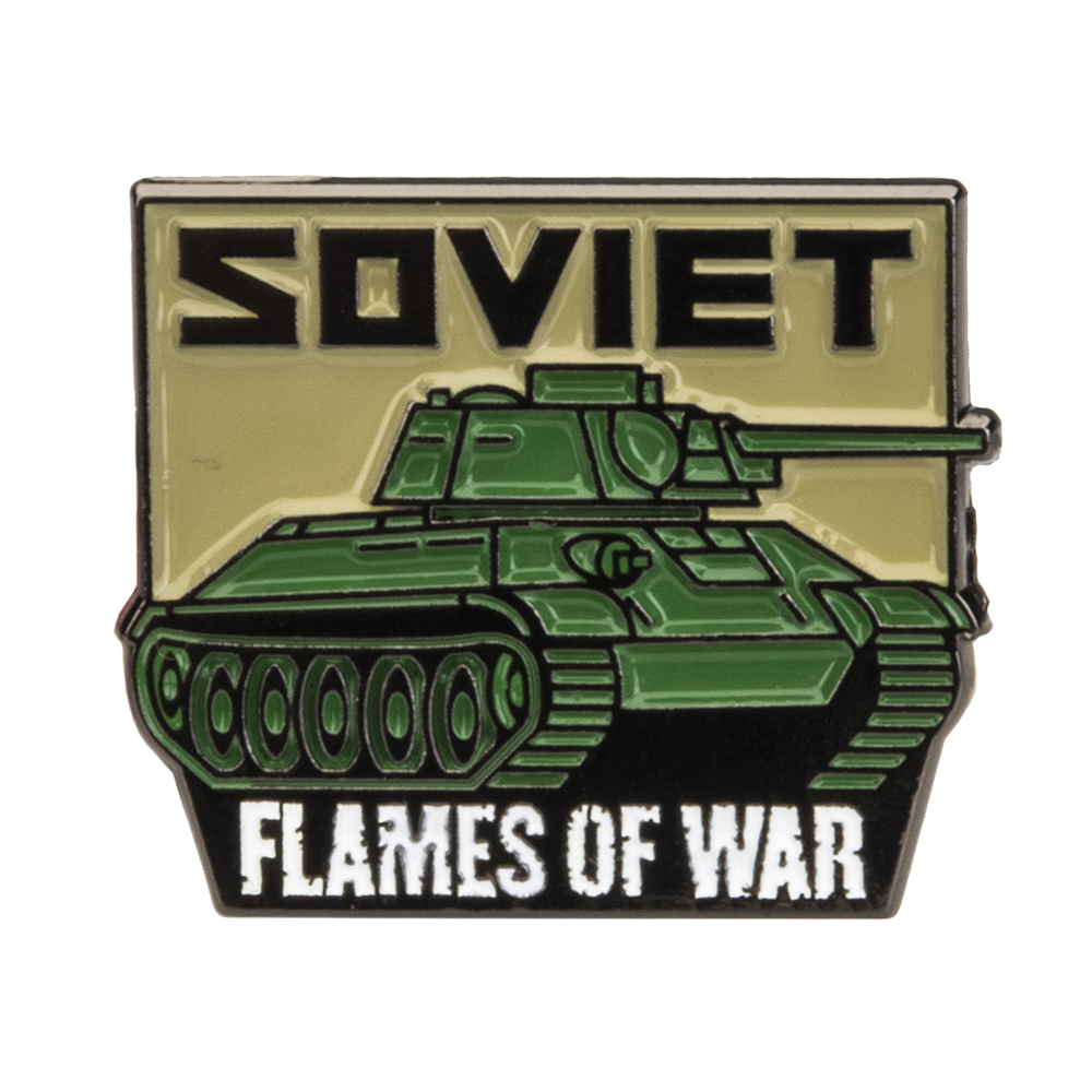 PIN04 – Soviet Limited Edition Collectors Pin