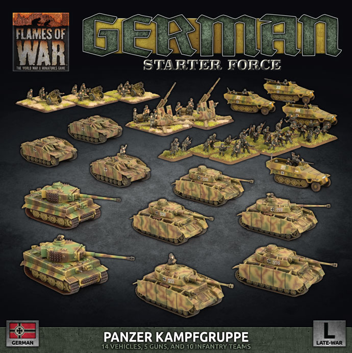 Click here to view the German Panzer Kampfgruppe Spotlight