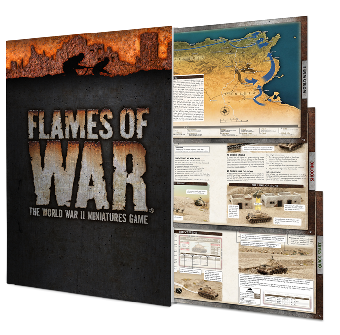 Flames Of War Rulebook: 4th Edition (FW009)