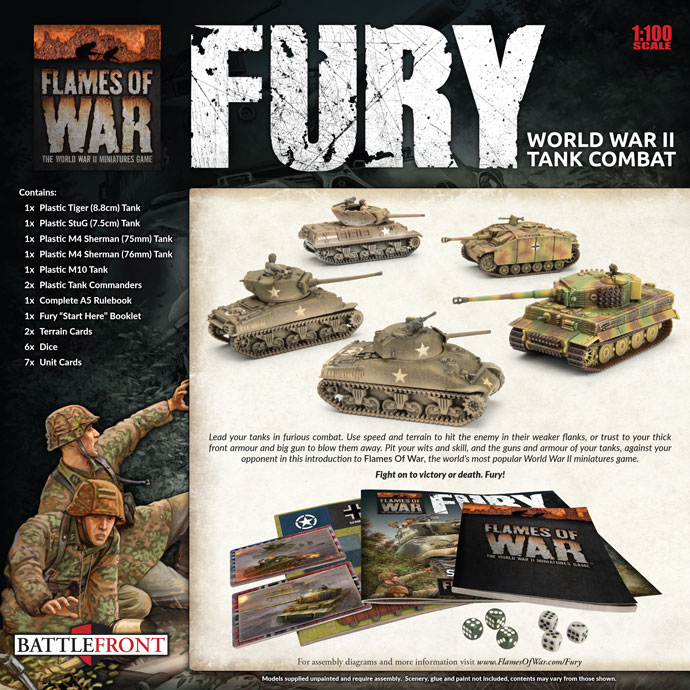 Fury: World War II Tank Combat (FWBX10)