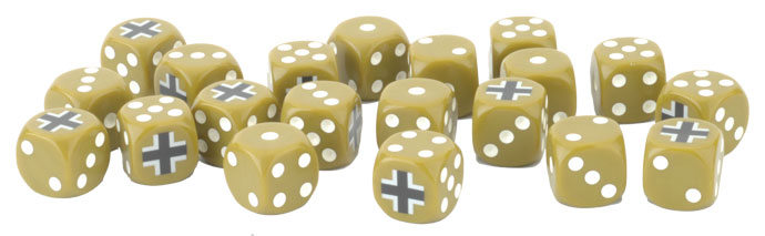 Late War German Dice Set (GE904)