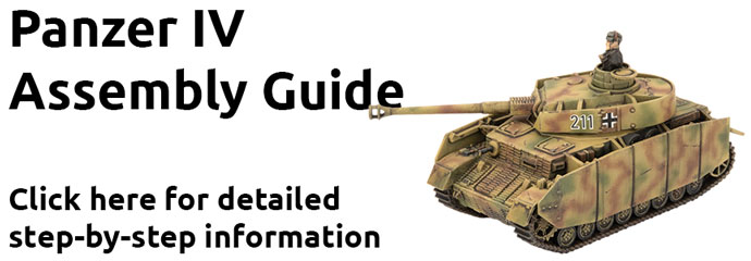 Click here to learn how to assemble the Panzer IV here...