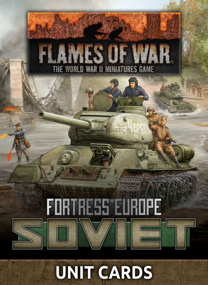 Fortress Europe: Soviet Unit Cards (FW261S)