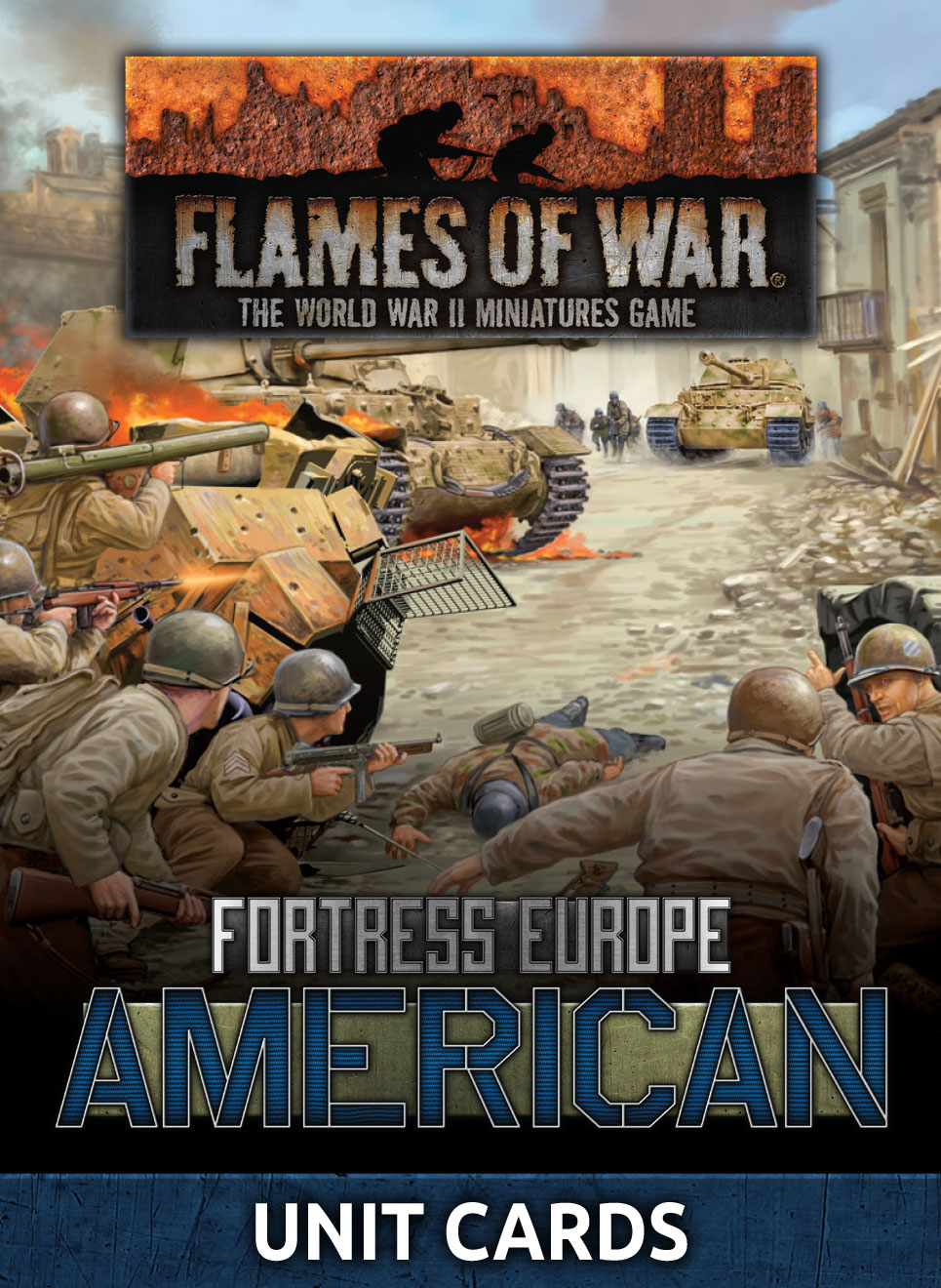 Fortress Europe: American Unit Cards (FW261U)