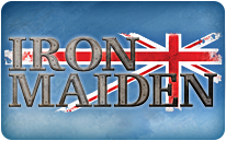 Iron Maiden Landing Page