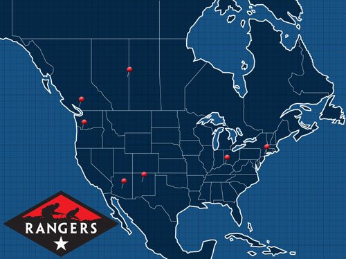 Rangers Lead The Way In North America