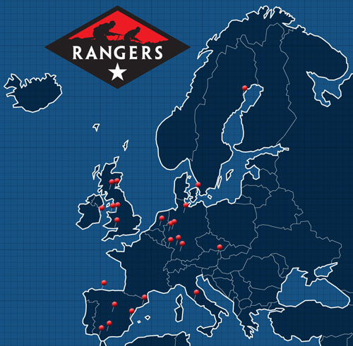 Rangers Lead The Way In Europe