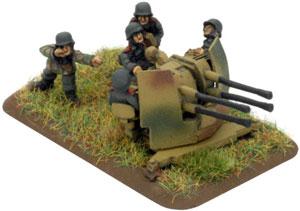 2cm Quad FlaK Gun Platoon (GE535)