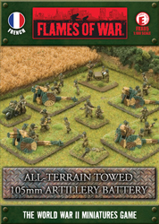 All-Terrain Towed 105mm Artillery Battery (FRX05)