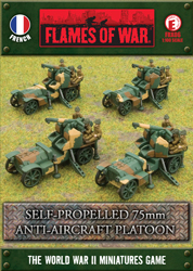Self-Propelled 75mm Anti-Aircraft Platoon (FRX06)