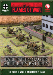 Fallschirmjäger Artillery Battery (GBX43)