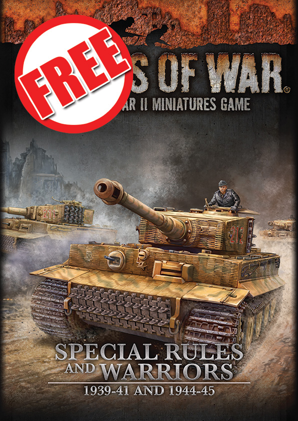 Flames Of War, Special Rules and Warriors, 1939-41 and 1944-45