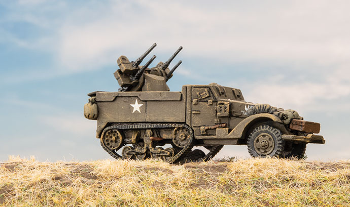 Click here to view the Self Propelled AAA Platoon Spotlight