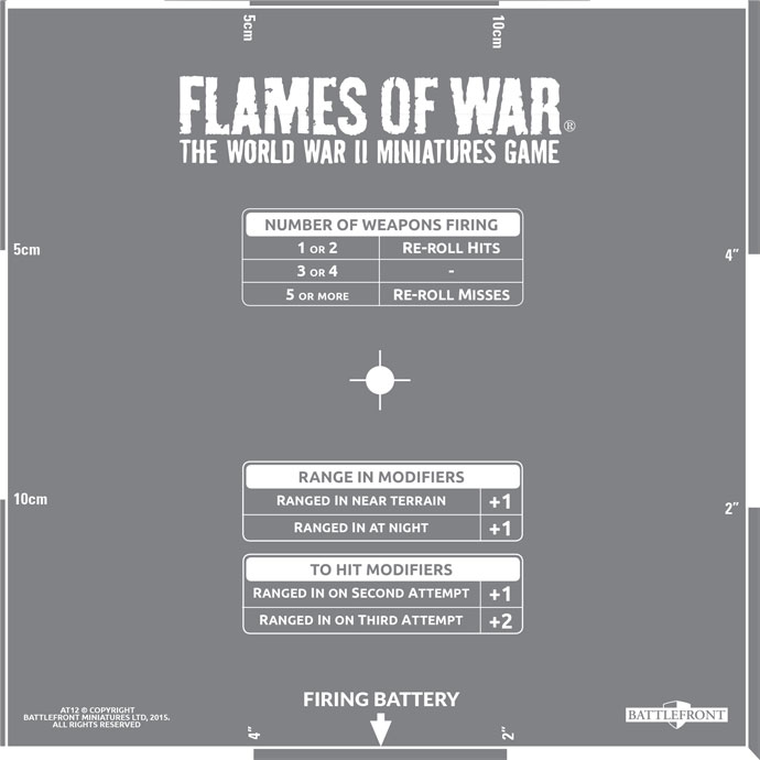 Click here to view the Flames Of War Templates Spotlight