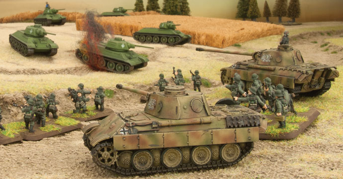 Click Here to go to the Panther Tank Platoon Spotlight