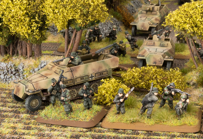Click here to view the Armoured Panzergrenadier Company HQ Spotlight